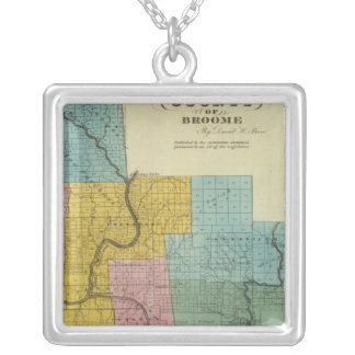 Broome County Silver Plated Necklace