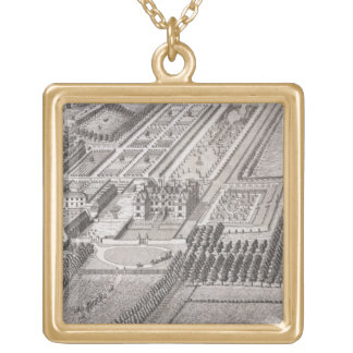 Broome, the seat of Sir Basil Dixwell, from 'Thirt Gold Plated Necklace