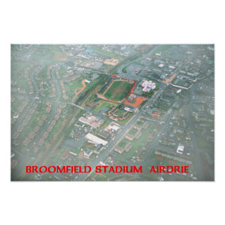 broomfield stadium airdrie poster