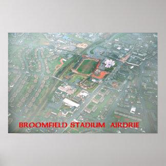 broomfield stadium airdrie poster