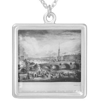 Broomielaw Bridge, Carlton Place Silver Plated Necklace