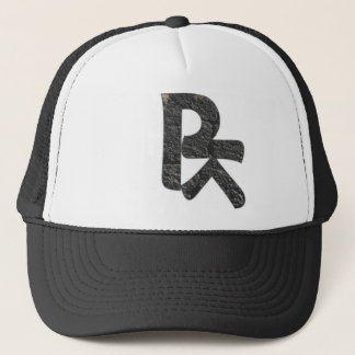 BROOTLYN Logo in Asphalt Concrete Trucker Hat