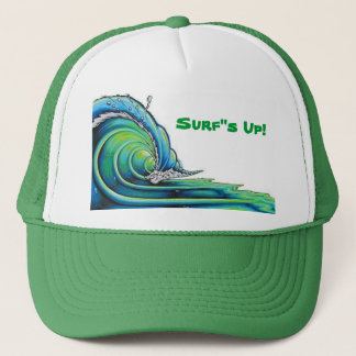 """brophy006big, Surf""""s Up! Trucker Hat"""