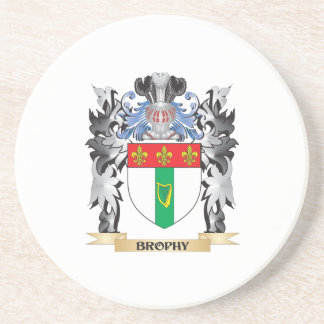 Brophy Coat of Arms - Family Crest Coaster
