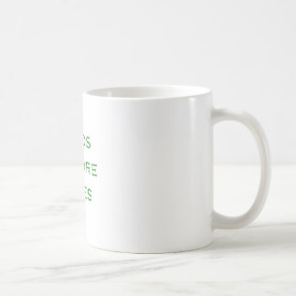 Bros Before Hoes Yellow Green Pink Coffee Mug