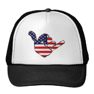 Bros Love America Mesh Hats