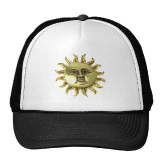 Brosche sun brooch sun hat