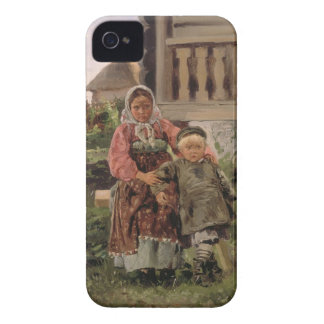Brother and Sister, 1880 iPhone 4 Cases