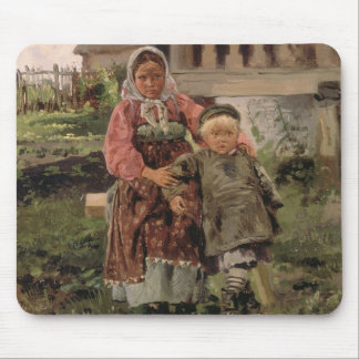 Brother and Sister, 1880 Mouse Mat