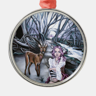 brother and sister christmas ornament
