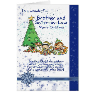 Brother And Sister-in-Law Christmas Card