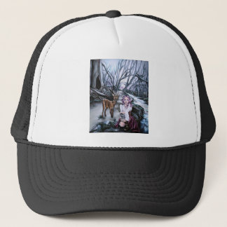 brother and sister trucker hat
