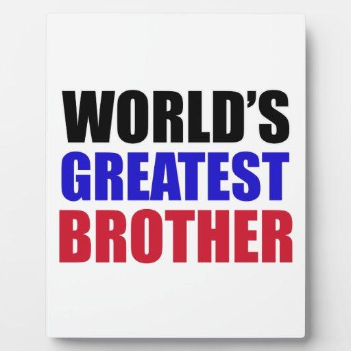 brother design plaque
