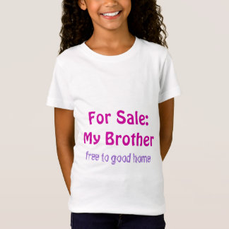 Brother for Sale Youth Tshirt