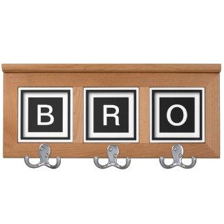 Brother Gift Idea Bro SIbling Coatrack Jacket Hook Coat Rack