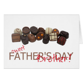 brother  Happy Father's Day Card