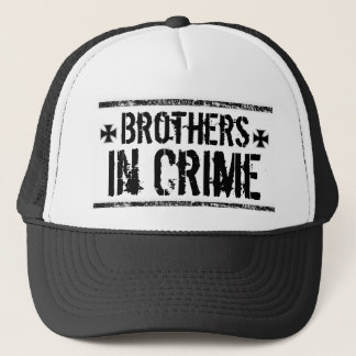 Brother in Crime Trucker Hat