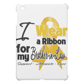 Brother-in-Law - Appendix Cancer Ribbon Cover For The iPad Mini