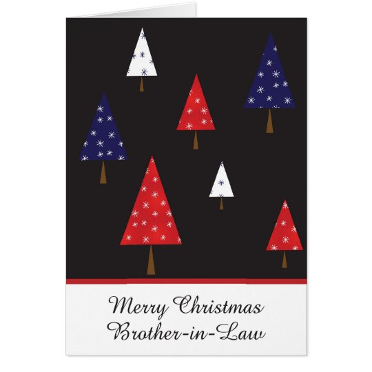 Brother in law christmas greeting card