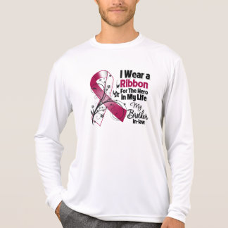 Brother-in-Law Hero in My Life Head Neck Cancer T-Shirt