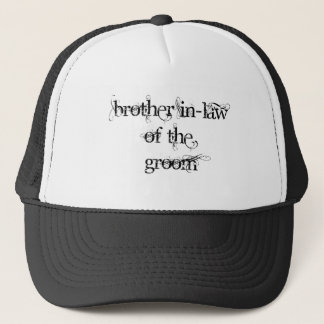 Brother In-Law of the Groom Cap