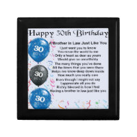 Brother 30th Birthday Gifts Gift Ideas