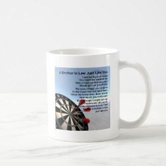 Brother in Law Poem - Darts Design Coffee Mug
