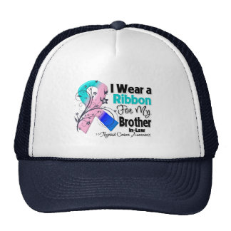 Brother-in-Law - Thyroid Cancer Ribbon Hats