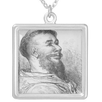Brother Jean des Entommeurs Silver Plated Necklace