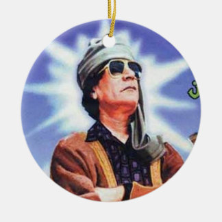Brother Leader Muammar Gaddafi Christmas Ornament