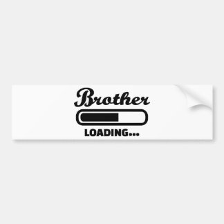 Brother loading bumper stickers