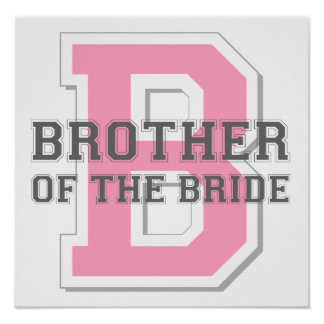 Brother of the Bride Cheer Print