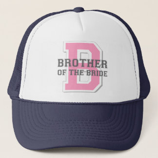Brother of the Bride Cheer Trucker Hat