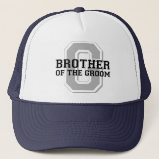 Brother of the Groom Cheer Trucker Hat