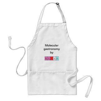 Brother periodic table name apron