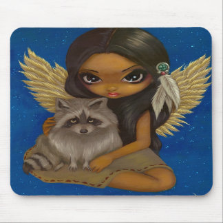 """Brother Raccoon"" Mousepad"