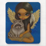 """""""Brother Racoon"""" Mousepad"""