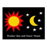 BROTHER SUN and SISTER MOON Postcard