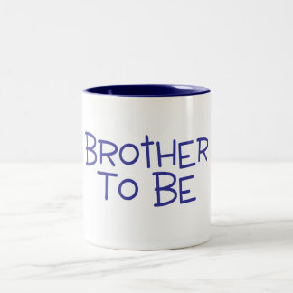 Brother To Be Two-Tone Mug