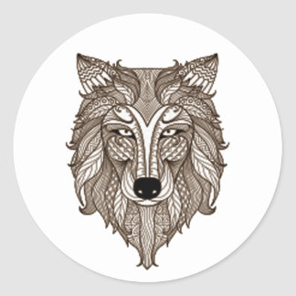 Brother Wolf NAHM Stickers