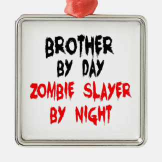 Brother Zombie Slayer Christmas Ornament