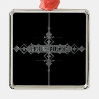 Brotherhood concept. christmas ornament