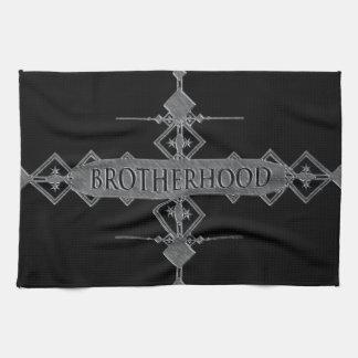 Brotherhood concept. kitchen towels