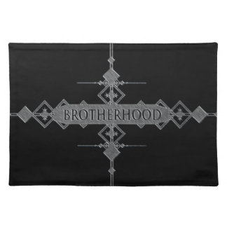 Brotherhood concept. placemat