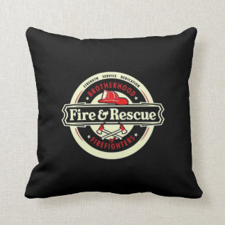 Brotherhood Firefighters Cushion