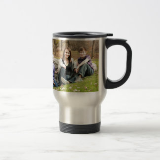 Brothers and sisters travel mug