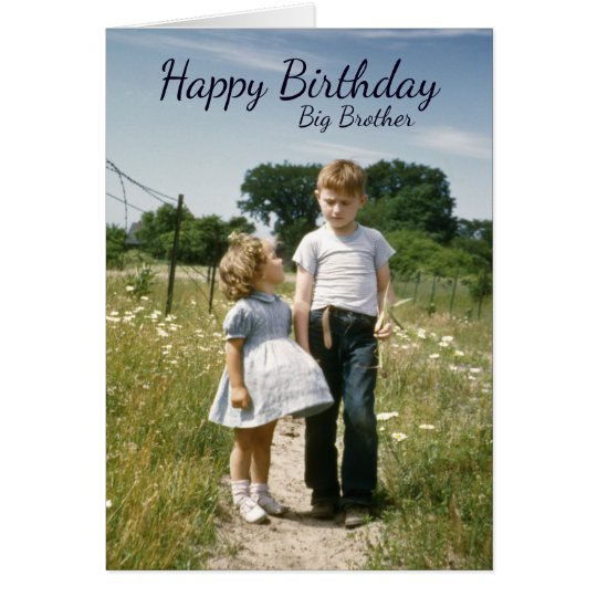 Brothers Birthday, Siblings Family Special Day Card