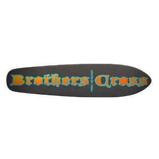 Brothers Cross grey deck Skateboards