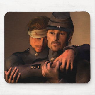 Brothers in arms mouse mat