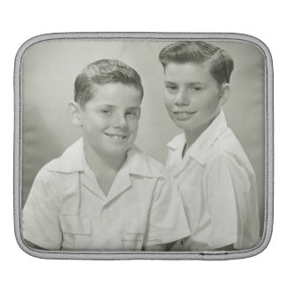Brothers in Studio iPad Sleeve